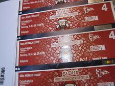 2 !!   X  Tickets SIDO Berlin 19.12.20 Samstag Stehplätze