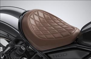 2021 Genuine Honda Rebel 1100 Custom Rider Seat (Brown) 08R75-MLA-A00ZA