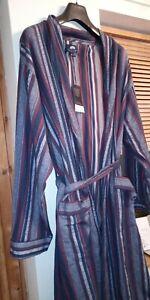 Men's Cotton Dressing Gown BNWT Meduim loungewear valentine present nightwear
