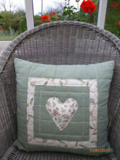 Checked Back Decorative Cushions