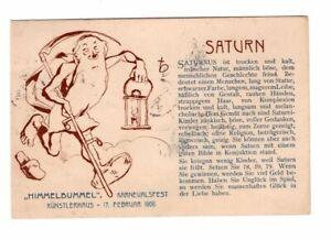 HIMMELBUMMEL - Saturn - Künstlerhaus Wien 1906 - Karnevalfest - Munk