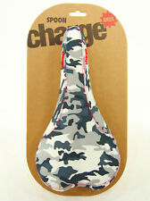 Charge Bikes Spoon Bike Saddle CrMo Rails Road Enduro MTB Fixie Snow Camo