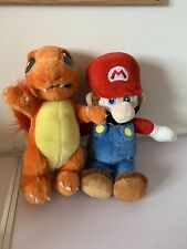 nintendo plush toys Mario And Charmander