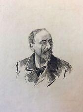 Victor Cherbuliez (1829-1899) écrivain français membre de l' Académie française