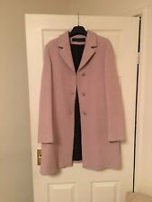 Kristina Ti Women's Coat,Pink,size UK 12/ IT 44.Pre-owned