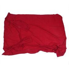 1X(Coperta di pile morbida peluche accogliente con maniche Vino rosso S1O1)