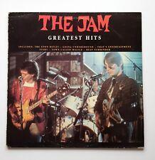 The Jam Greatest Hits Vinyl LP Paul Weller Mod Revival The Chords The Who Mod EX