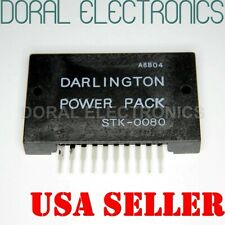 STK0080 w HEATSINK COMPOUND Integrated Circuit IC Darlington Power Pack STK-0080