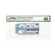 US MPC Series 661 10 Cents PMG 66 Gem Unc. EPQ
