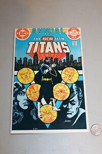 New Teen Titans Annual 2 1st App Vigilante & Lyla 1983 VF- Suicide Squad Movie