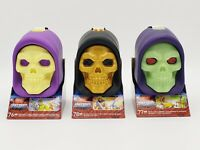 Mega Construx Masters of the Universe Skeletor Skull Complete Set of 3 Free Ship