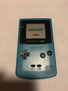 Nintendo Game Boy Color CGB-001 Turquoise Console Portable