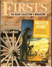 Firsts 4/11, rare Us book collector mag, westerns, David Lavender, ephemera