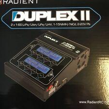 Radient Duplex II Twin 2 x 60W Charger (UK Stock Uk Modelshop, 2 x 60w chargers