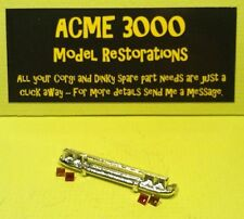 Dinky 255 Mk4 Ford Zodiac Reproduction Repro Chrome Rear Bumper & Jewels