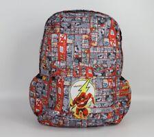 The Flash School Bag Canvas Backpack Students Travel Bag Computer Bag Book Bag