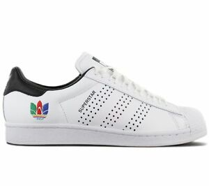 Adidas originals superstar Hommes Sneaker Blanc FW5388 Loisir Chaussures Baskets