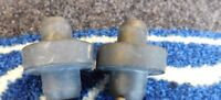 FORD TRANSIT MK2 RADIATOR MOUNTING RUBBERS NEW GENUINE FORD x2