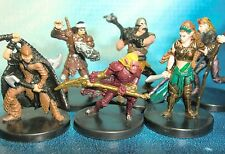 Dungeons & Dragons Miniatures Lot  Savage Player Character Party !!  s108