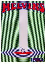 MELVINS Santa Barbara 2020 silkscreened poster Droid ipecac
