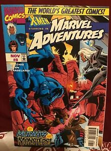 Marvel Comics X-MEN starring in Marvel Adventures NOV #8 Comic Book