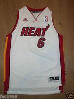 Kids Youth NBA Basketball Jersey Top Vest Miami Heat 6 James S M L Adidas New