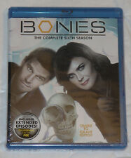 Bones - Sixth Season 6 Six - Cradle To Grave Edition Blu-Ray NEW SEALED