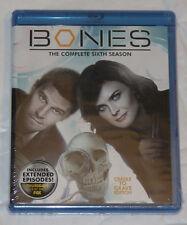 Bones - Sixth Season 6 Six - Cradle To Grave Edition Blu-Ray NEW SEALED