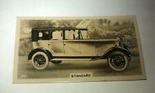 STANDARD 18/36hp  -  Wills New Zealand Real Photo Cigarette Card Issued 1926