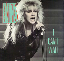 STEVIE NICKS  I Can't Wait / The Nightmare 45 with PicSleeve