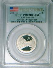 2011-S Chickasaw quarter PCGS PR69DCAM proof 1st Strike