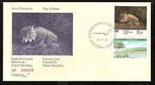 CANADA QUEBEC PROVINCE # QW5 WILDLIFE CONSERVATION 1992 FIRST DAY COVER