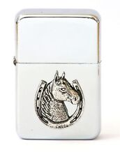 Horse Head  Petrol Lighter FREE ENGRAVING hunting Gift