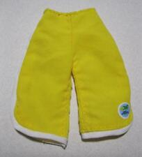 Barbie Doll Hannah Montana Clothes Lilly/Lily Board Shorts Yellow Swim Trunks
