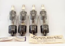 4x TUBES 394a Western electric thyratron for rectifers use