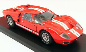 Solido 1/43 Scale Model Car 43751 - 1966 Ford GT40 MKII - Red