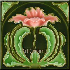 Art Nouveau Reproduction Decorative Ceramic tile 225