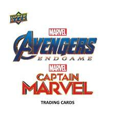2019 Upper Deck Marvel Avengers Endgame & Captain Marvel Hobby Box