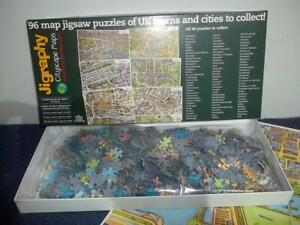CITYSCAPE MAPS - SOUTHPORT - 1000 PIECE JIGRAPHY JIGSAW PUZZLE - CONTENTS SEALED
