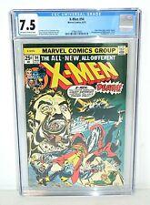 X-Men #94 - CGC 7.5 - Marvel 1975 - New, 2nd Nightcrawler Storm - Original Owner