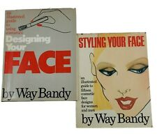 Designing Your Face Makeup 1977 Way Bandy Styling Your Face 1981 lot of 2