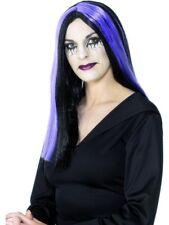 Vestido de lujo Halloween de la peluca peluca PPL Rayas # embrujado