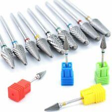 Nail Drill Bits Cone Carbide Tungsten Milling Cutter Manicure Electric Machine