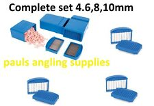 Map Complete Set of Fishing Meat Cutter Cutters  4,6,8 and 10mm Blades included