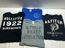 Lot Of 4 Men's Abercrombie & Fitch Hollister T Shirts Large