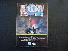 Away Teams Chelsea Charity Shield Football Programmes