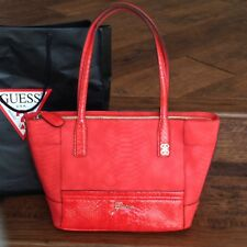 BRAND NEW Guess CONFESSION Carryall Bag - Red Handbag - NWT