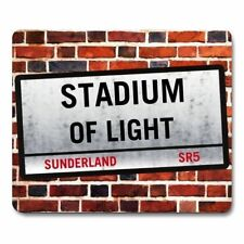 STADIUM OF LIGHT London Street Sign MOUSEMAT - Sunderland Football mouse mat pad