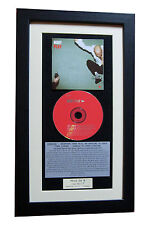 MOBY Play CLASSIC CD Album GALLERY QUALITY FRAMED+EXPRESS GLOBAL SHIPPING