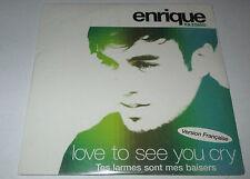 Enrique Iglesias - love to see you cry - cd single 2 titres neuf scellé 2002